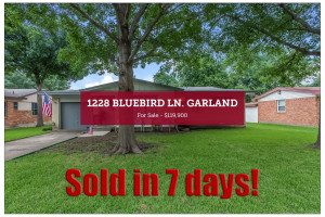 1228 Bluebird Lane - Sold in 7 Days!