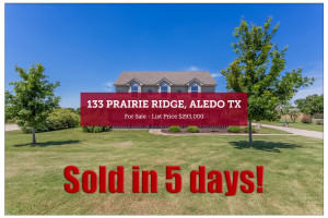 133 Prairie Ridge - Sold in 5 Days!