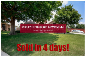1533 Fairfield Ct - Sold in 4 Days!
