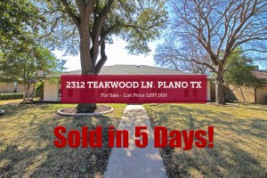 2312 Teakwood Ln - Sold in 5 Days!