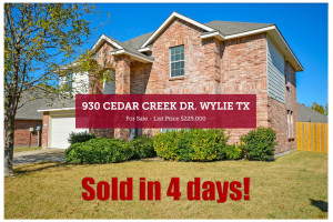 930 Cedar Creek Drive - Sold in 4 Days!